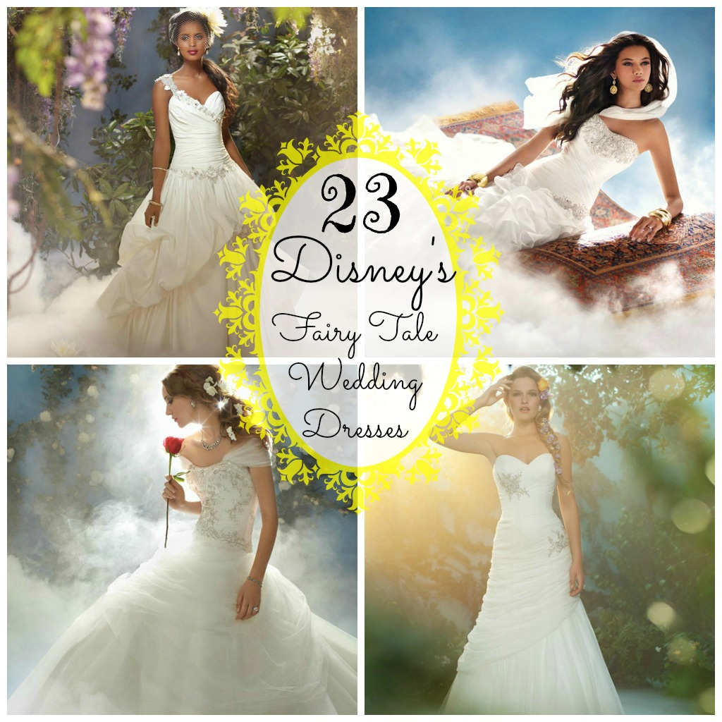 23 Stunning Disney Wedding Dresses • Family is Familia