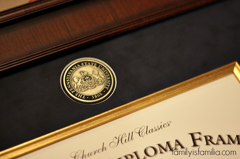 Penn State Wedding Gifts: The Perfect Graduation Gift Idea: A Diploma Frame • Family